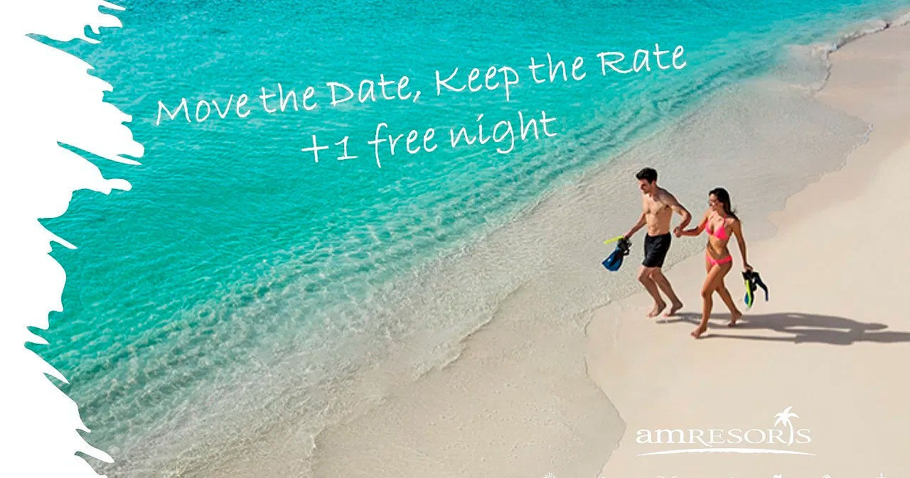 Move the Date Keep the Rate AMResorts